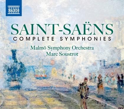 Camille Saint-Saëns (1835-1921), Marc Soustrot & Malmö Symphony Orchestra - Complete Symphonies (3 CDs)
