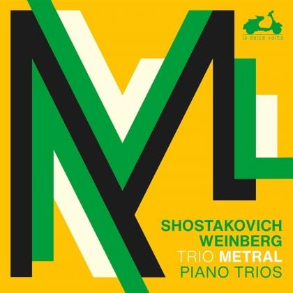 Trio Metral, Dimitri Schostakowitsch (1906-1975) & Mieczyslaw Weinberg (1919-1996) - 3 Piano Trios