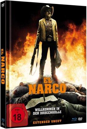 El Narco - Willkommen in der Drogenhölle (2010) (Extended Edition, Limited Edition, Mediabook, Uncut, Blu-ray + DVD)