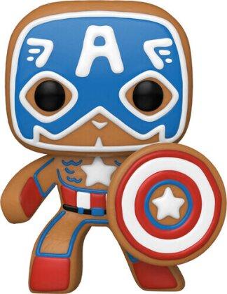 Funko Pop! Marvel: - Holiday- Captain America