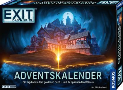 EXIT Das Spiel Adventskalender - Die Jagd nach dem goldenen Buch