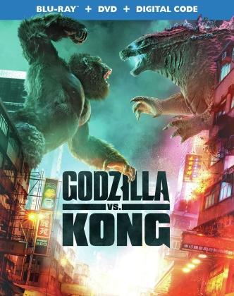 Godzilla Vs. Kong (2021) (Blu-ray + DVD)