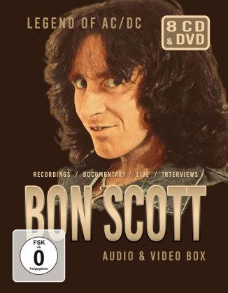 AC/DC - Bon Scott Audio & Video Box (4 CDs + 4 DVDs)