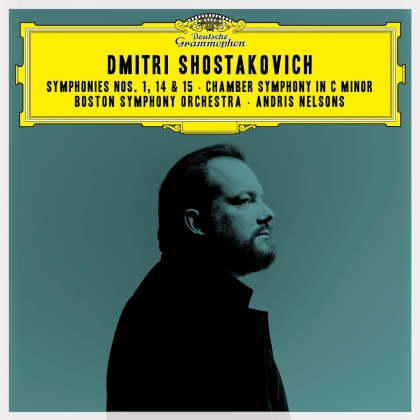 Andris Nelsons, Boston Symphony Orchestra & Dimitri Schostakowitsch (1906-1975) - Symphonies Nos.1, 15 & 14 / Chamber Symphony (2 CD)
