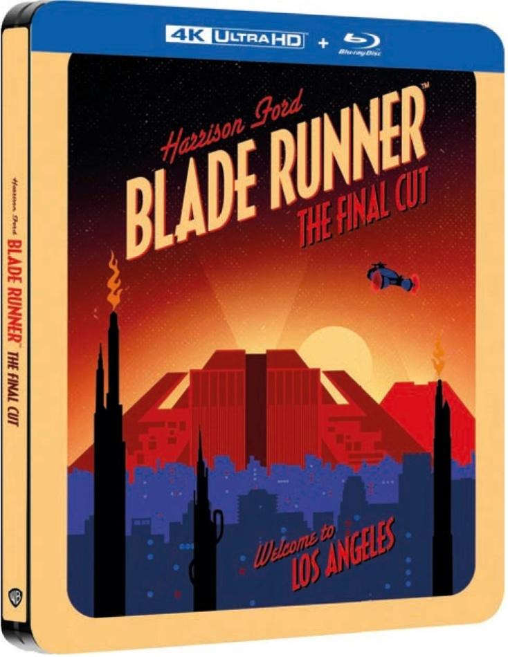 Blade Runner (1982) (Final Cut, Edizione Limitata, Steelbook, 4K Ultra HD + Blu-ray)