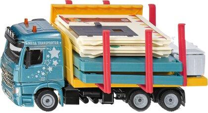 Fertighaus Transporter - Siku Super, 1:50, Haus,