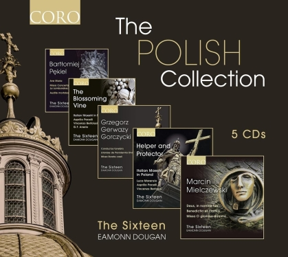 Eamonn Dougan & The Sixteen - Polish Collection (5 CDs)