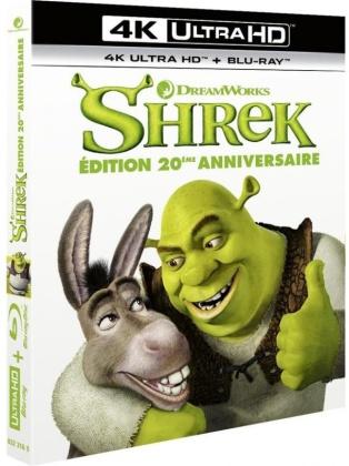 Shrek (2001) (4K Ultra HD + Blu-ray)
