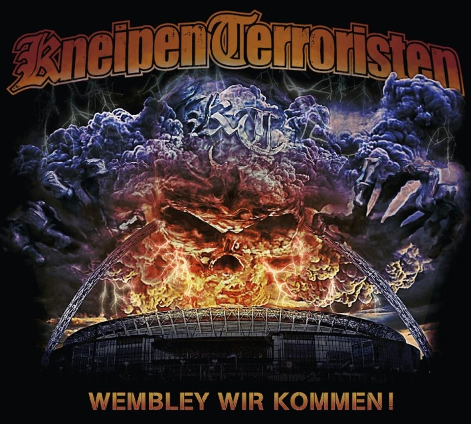 Kneipenterroristen - Wembley wir kommen ! (Digipack)