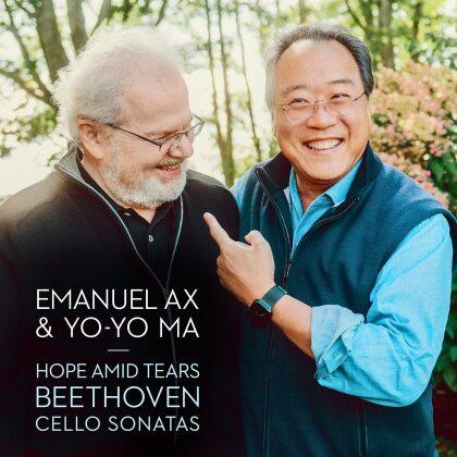 Ludwig van Beethoven (1770-1827), Yo-Yo Ma & Emmanuel Ax - Hope Amid Tears - Cello Sonatas (3 CDs)