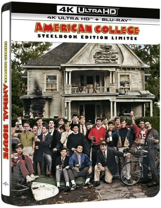 American College (1978) (Limited Edition, Steelbook, 4K Ultra HD + Blu-ray)