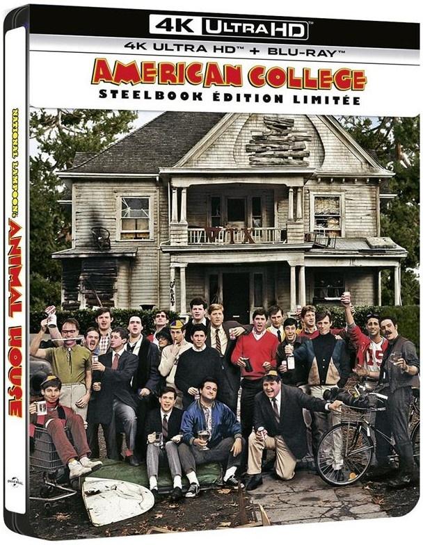 American College (1978) (Limited Edition, Steelbook, 4K Ultra HD + Blu-ray)