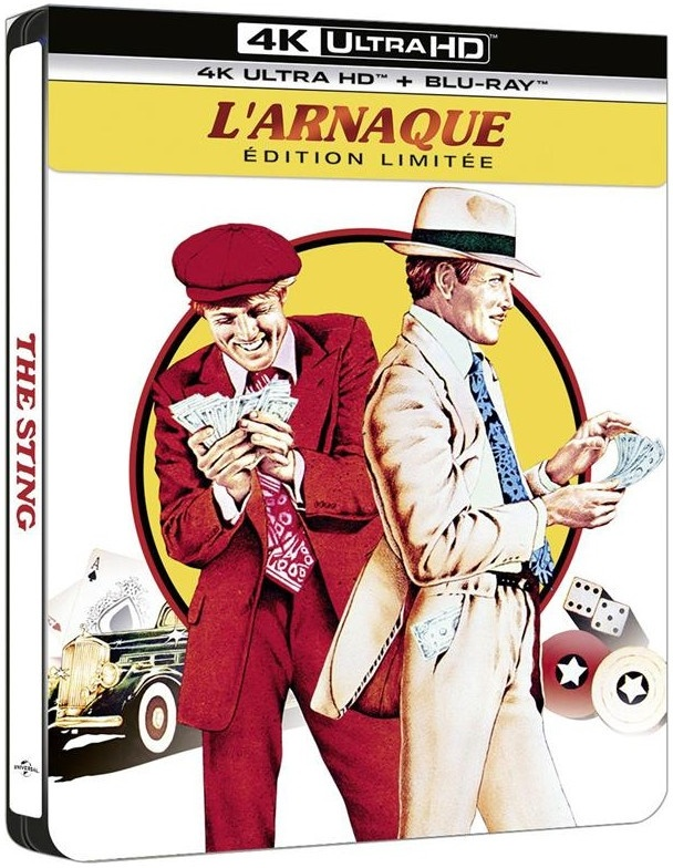L'arnaque (1973) (Limited Edition, Steelbook, 4K Ultra HD + Blu-ray)