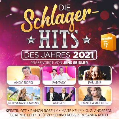Die Schlager-Hits des Jahres 2021 präsentiert von (2 CDs)
