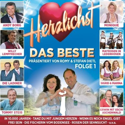 Herzlichst - Das Beste präsentiert von Romy & Stefan (2 CDs)