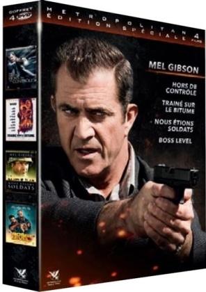 Mel Gibson - Hors de contrôle / Traîné sur le bitume / ous étions soldats / Boss Level (4 DVDs)