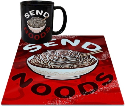 Send Noods - Mug & Chopping Board Set
