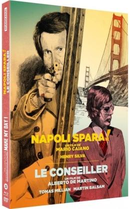 Napoli spara ! / Le Conseiller (Make My Day! Collection, 2 Blu-ray + 2 DVD)