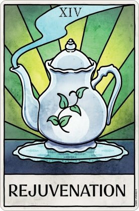 Deadly Tarot Life: Rejuvenation - Small Tin Sign