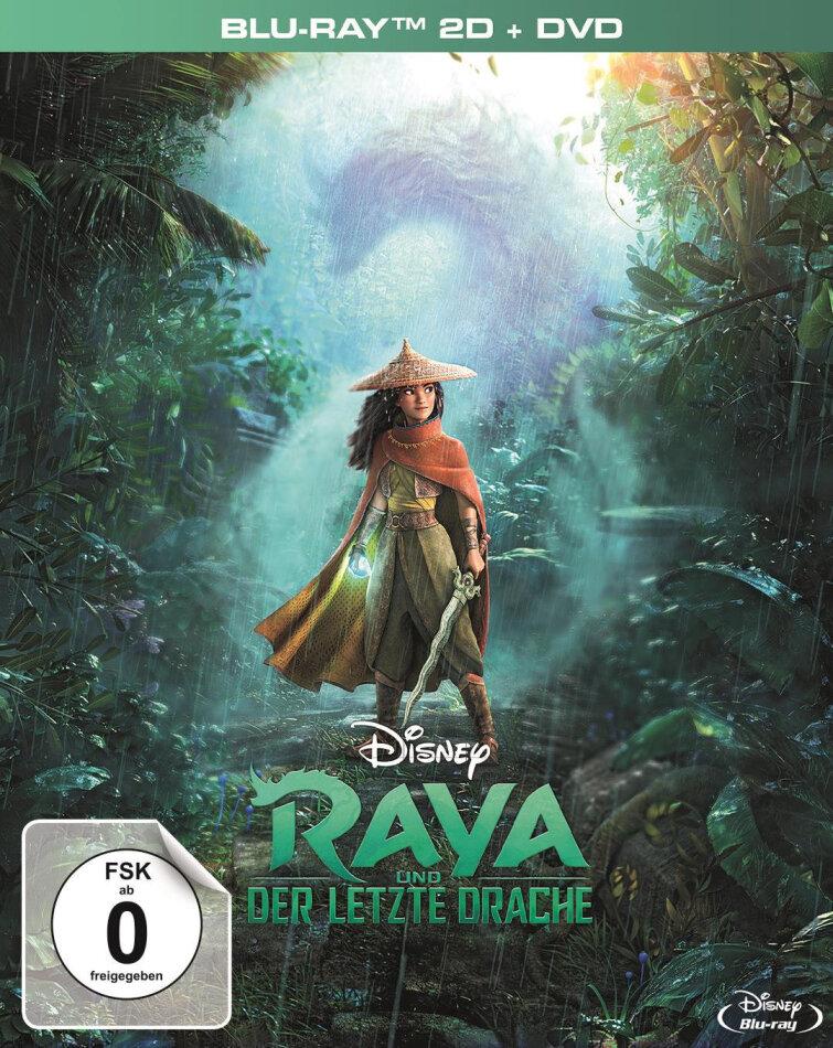 Raya und der letzte Drache (2021) (Digipack, Deluxe Edition, Blu-ray + DVD)