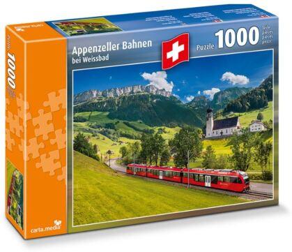 Appenzeller Bahnen bei Weissbad - Puzzle