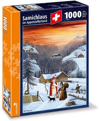 Samichlaus im Appenzellerland - Puzzle