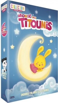 Monde des Titounis - Endors-toi avec les Titounis (2 DVDs)