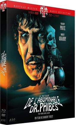 Le retour de l'abominable Dr. Phibes (1972) (Nouveau Master Haute Definition, Blu-ray + DVD + Livret)