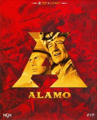 Alamo (1960) (Schuber, Digipack, Extended Edition, Versione Cinema, 2 Blu-ray)