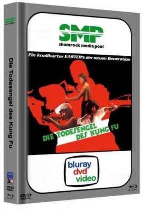 Die Todesengel des Kung Fu (1977) (Cover C, Limited Edition, Mediabook, Blu-ray + DVD)