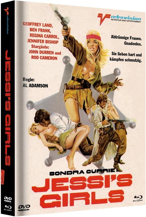 Jessi's Girls (1975) (Cover D, Edizione Limitata, Mediabook, Blu-ray + DVD)