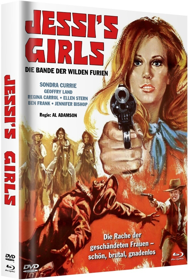 Jessi's Girls (1975) (Cover E, Limited Edition, Mediabook, Blu-ray + DVD)