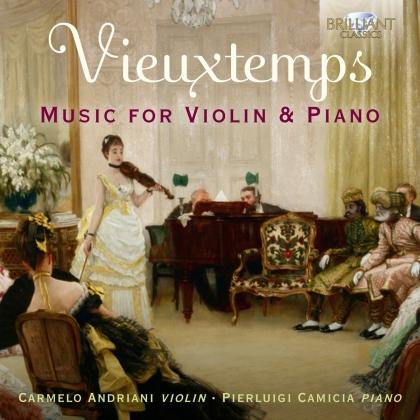 Henri Vieuxtemps (1820-1881), Carmelo Andriani & Pierluigi Camicia - Music For Violin&Piano