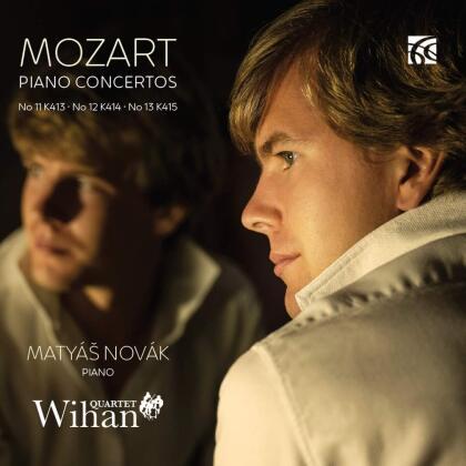 Wihan Quartet, Wolfgang Amadeus Mozart (1756-1791) & Matyas Novak - Piano Concertos Nos 11, 12 & 13