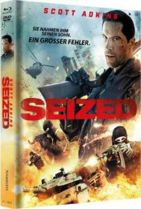 Seized (2020) (Cover A, Limited Edition, Mediabook, Uncut, Blu-ray + DVD)