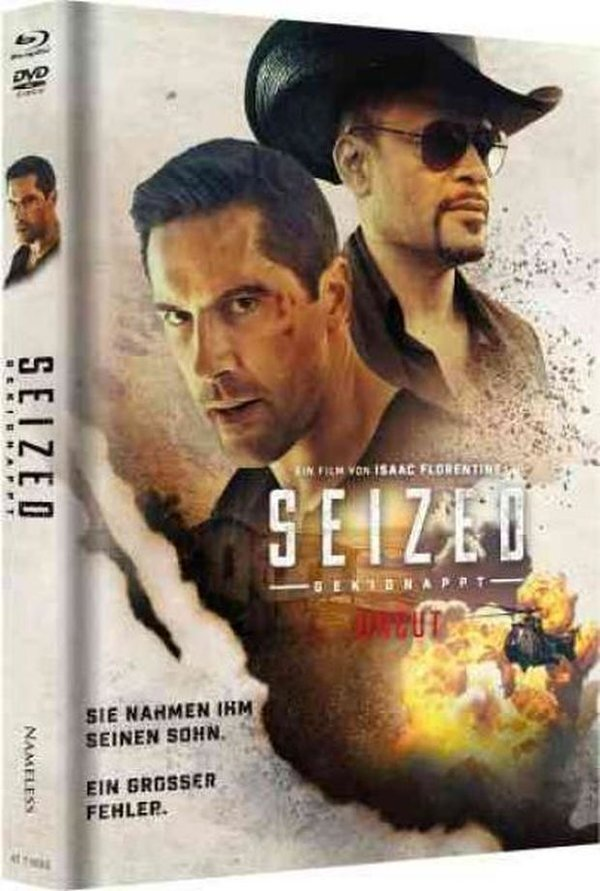 Seized - Gekidnappt (2020) (Cover B, Limited Edition, Mediabook, Uncut, Blu-ray + DVD)