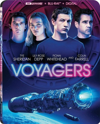 Voyagers (2021) (4K Ultra HD + Blu-ray)
