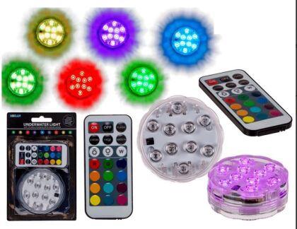 Unterwasserlicht mit 10 LEDs - wasserdicht !