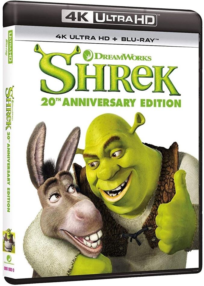 Shrek (2001) (20th Anniversary Edition, 4K Ultra HD + Blu-ray)