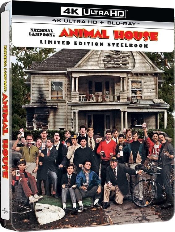 Animal House (1978) (Limited Edition, Steelbook, 4K Ultra HD + Blu-ray)