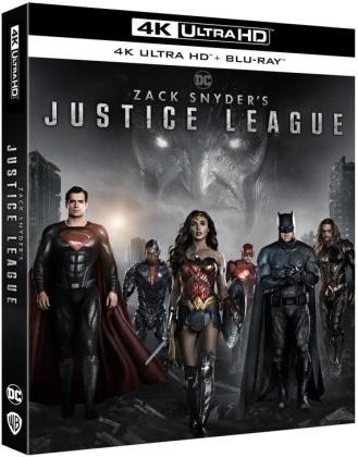 Zack Snyder's Justice League (2021) (2 4K Ultra HDs + 2 Blu-ray)