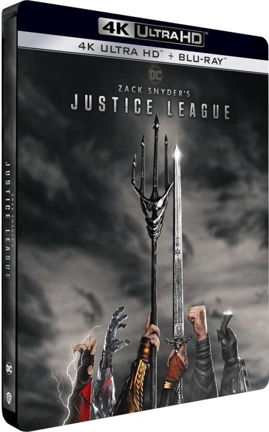 Zack Snyder's Justice League (2021) (Steelbook, 2 4K Ultra HDs + 2 Blu-rays)