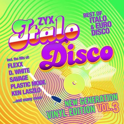 ZYX Italo Disco New Generation:Vinyl Edition Vol.3 (LP)