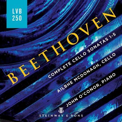 Ludwig van Beethoven (1770-1827), Ailbhe McDonagh & John O'Connor - Complete Cello Sonatas (2 CDs)