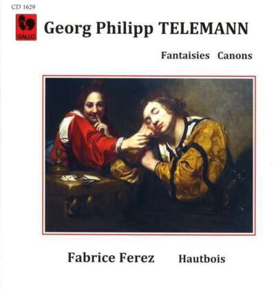 Georg Philipp Telemann (1681-1767) & Fabrice Ferez - Fantaisies & Canons - For Solo Oboe