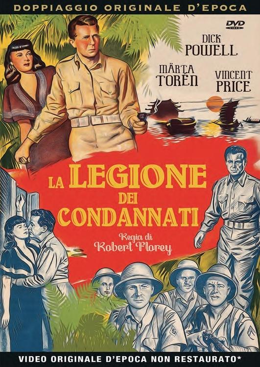 La legione dei condannati (1948) (Rare Movies Collection, Doppiaggio Originale D'epoca, s/w)