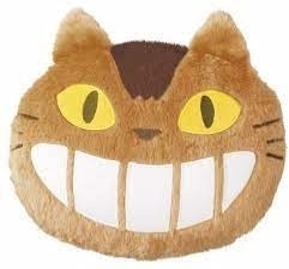 Studio Ghibli - My Neighbor Totoro - Catbus Die-Cut Pillow Cushion