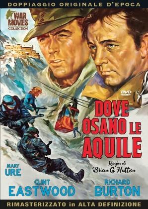 Dove osano le aquile (1968) (War Movies Collection, Doppiaggio Originale D'epoca, HD-Remastered)