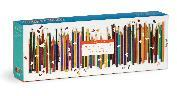 Frank Lloyd Wright Colored Pencils Shaped 1000 Piece Panoramic Puzzle