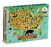 National Parks of America 1000 Piece Puzzle
